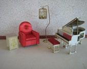 Vintage 1964 Ideal Petite Princess Dollhouse Fantasy Furniture