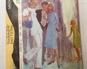 """McCall's 2794, vintage 1971 sewing pattern, dress tunic pants, size 14, Bust 36"""""""