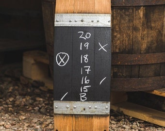 Wine Barrel Score Board