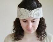 ON Sale Knitted Headband Ear warmer Chunky Knit Turban Style  Hairband