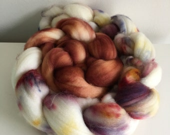 OOAK - 100% Superwash Merino spinning fiber top
