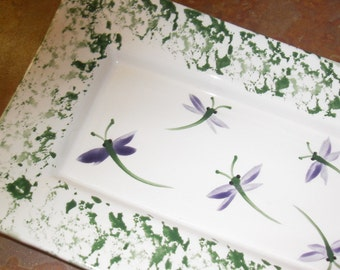 Dragonfly Serving Tray