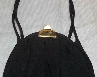 HOT SALE Vintage 1950's JR Formal Handbag Acetate Clutch Purse Bag