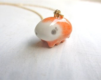 Petit Waterbear Pendant-orange