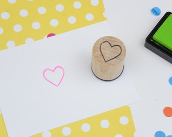 Heart Mini Stamp