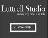 Custom Listing Sterling Silver Earrings