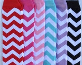 Baby Leg Warmers 6 - Pack Facebook Discount 10% oFF Chevron Leg Warmers Last Minute Gift Girl Leg Warmers Pink, Red, Black Lavender, Teal