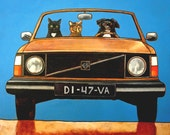 "183 Volvo Diva – print 38x38cm/15x15"""