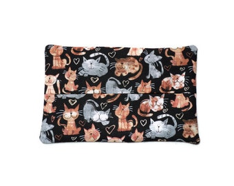 Fabric Cat Tissue Holder -  Cats