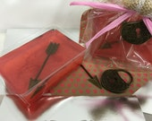 Cupid's Arrow Valentine's Day Soap