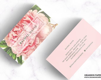 RACHEL BUSINESS CARD // Vintage Botanical / Floral / Flower / Garden
