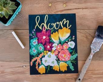 Bloom Floral 8x10 Print