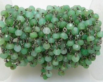 chrysoprase rosary chain