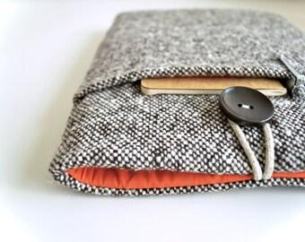"MacBook Air Case 11"", MacBook Pro 13 Case, Retina Display 15"" MacBook, Surface Book or Chrome Book Case - Brown Wool"