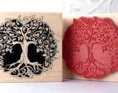 Celtic Tree of Life rubber stamp from oldislandstamps