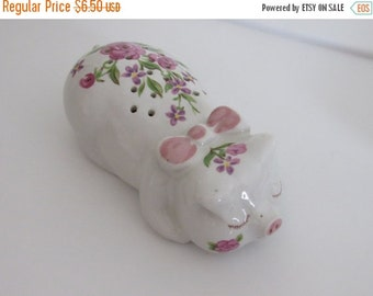 ON SALE Vintage 1970s Avon Ceramic Sachet Pig, made by Ceramarte in Brazil, Bath/Bedroom Decor/Collectible