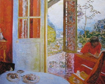 Pierre bonnard dining room in the country
