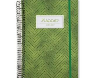 Custom Day Planner Organizer   2017-2018 Planner   Agenda Planner   Daily Schedule Planner   Day Organizer   Personalized Planner Organizer