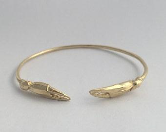 Crab Claw Cuff Bracelet