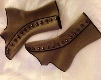 vintage edwardian spats