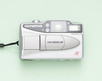 Olympus Trip XB 40 AF Compact 35mm Point and Shoot Film Camera - Fully Working