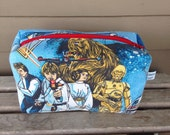 Star Wars Rectangular Zipper Pouch Recycled