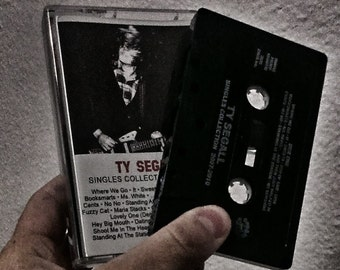 Ty Segall Singles Collection 2007-2010 Cassette Tape (Numbered)
