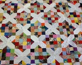 Scrappy X Unfinished Quilt Top #3