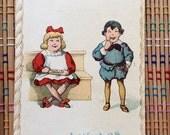 1900 Fat Shaming Card