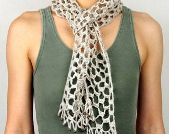 Barely There Scarf - PDF Crochet Pattern - Instant Download