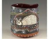 Little Bandit - Ceramic Vessel by Jenny Mendes