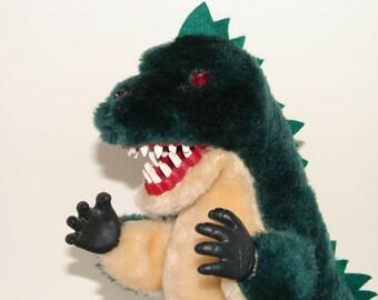 Godzilla - Vintage Jamina World Battery Op Godzilla Toy 1987