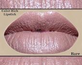 Bare - Pink Nude Color Rich Lipstick