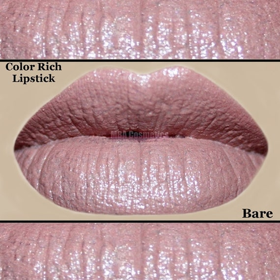 Bare - Pink Nude Color Rich Lipstick