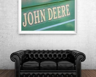 Set of Two John Deere photos, Farming, Tractors