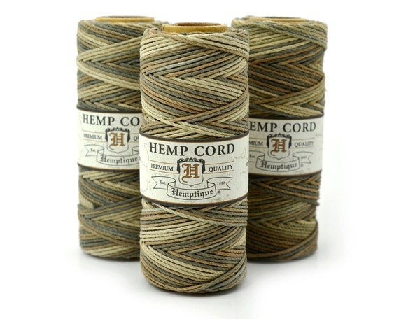 Hemp Cord,  Earthy, 205 Feet, 1mm,  Bracelet Cord,  Eco Friendly, Hemp Twine  -T41