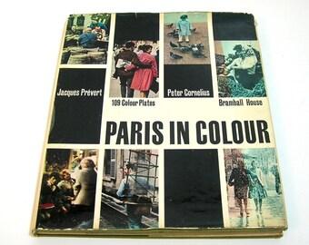 Paris in Colour, Bramhall House, Peter Cornelius, 1961