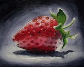 Berry Season - original daily painting by Kellie Marian Hill