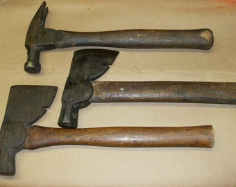 Antique Hammers Lot of 4