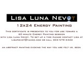 Gift Certificate for Essence Painting 12 x24