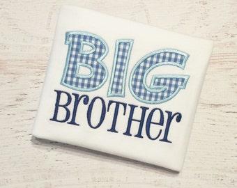 Big Brother Shirt - Big Bro Shirt - Sibling Shirt - Older Brother Shirt - Big Brother Bodysuit - Big Brother - Pregnancy Announcement