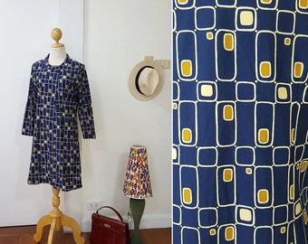 1970s Mod Dress / Japanese vintage dress