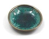 Raku RAVEN Bowl Handmade Pottery