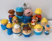 Instant Collection of Little Plastic People..Fisher Price..Disney..Shelcore