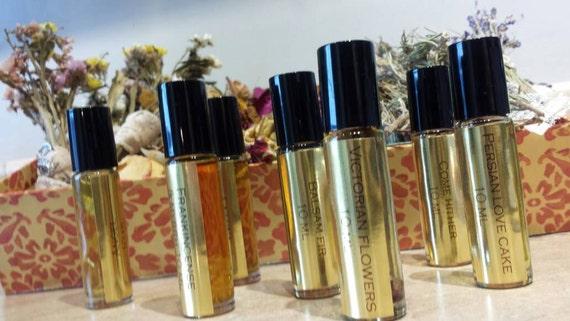 Frankincense & Myrrh Botanical Perfume Oil. Vintage Aged Frankincense and Myrrh Resins. 10 ML.