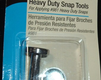 Heavy Duty Snap Tool Size 24 Dritz Snap Attaching Tool