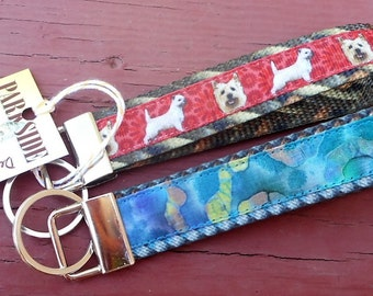Breed Specific Key Fobs Featuring Terrier Dogs