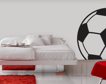Soccer Ball Line Sports Removable Wall Decal
