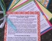 Sale - June 2016 LDS Home Teaching Packet - Latter Day Saint Home Teach Handout - First Presidency Message