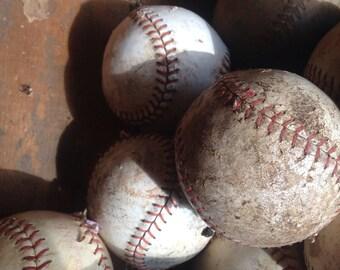 Vintage Softballs, 9 lot